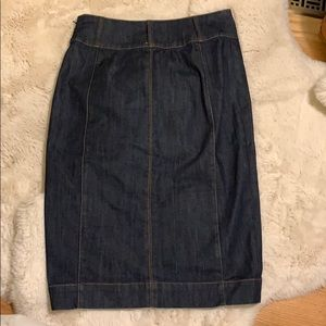 White House Black Market Jeans Skirt